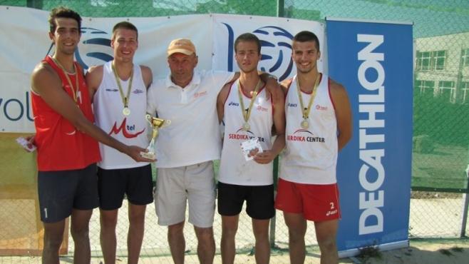 Кордев и Мечкаров спечелиха първия турнир от Beach Volley Mania 2015