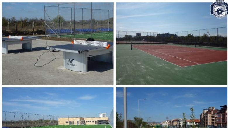 В Несебър отвориха парк със спортна база