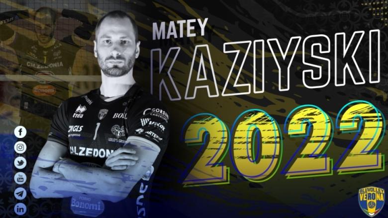 Матей Казийски във Верона до 2022