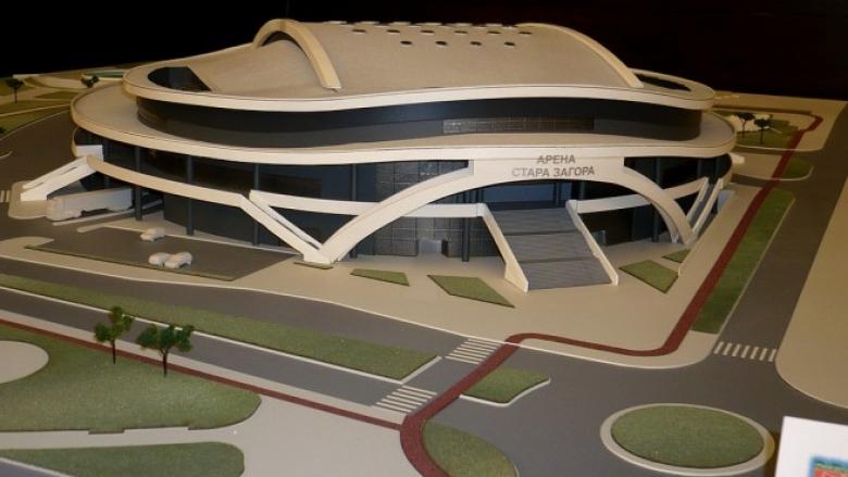 Вижте как ще изглежда бъдещата Арена Стара Загора (снимки)