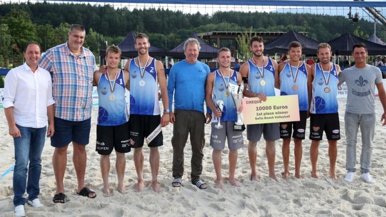Швейцарски тандем триумфира на международния турнир Sofia Beach
