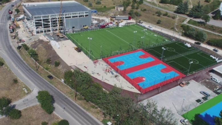 Напредва изграждането на спортния комплекс във Варна