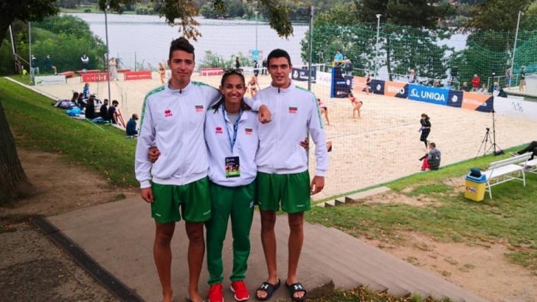 България с втора победа на европейското по плажен волейбол U20