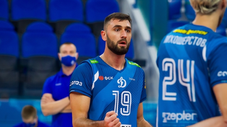 Цветан Соколов MVP на кръга в Русия