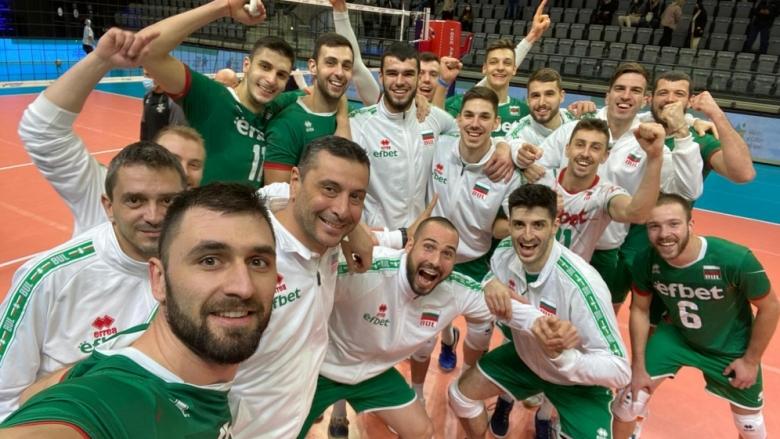Волейболните национали към феновете: Благодарим ви за подкрепата!