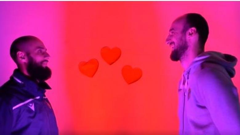 Празничен поздрав от ВК Хебър: Кой ще се разсмее пръв? (видео)