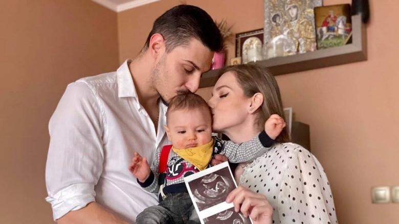 Добри Димитров и Нанси Карабойчева очакват второ дете