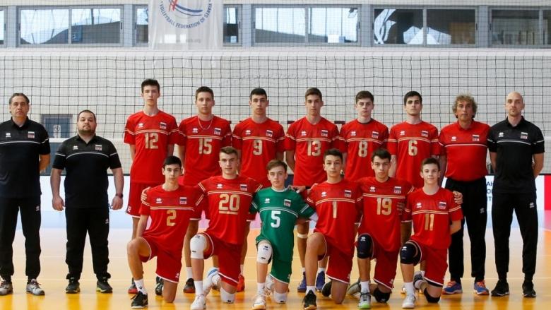 Гледай на живо с BGvolleyball.com България - Румъния от евроквалификацията U17