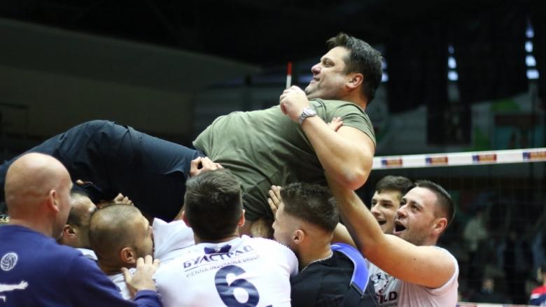 Мартин Стоев: Заслужихме си титлата, ще превърнем Сливница във волейболен град