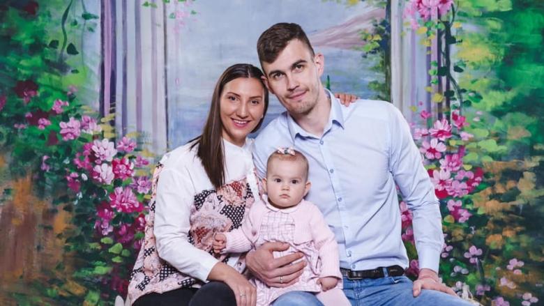 Волейболист на Дунав стана баща за втори път