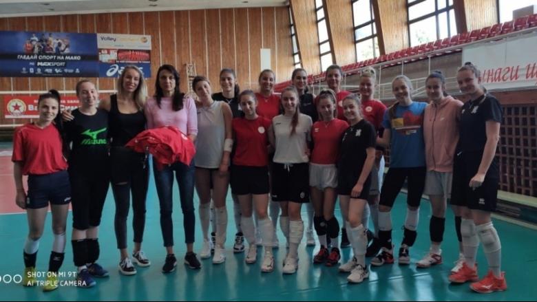 Добриана Рабаджиева с жест към школата на ЦСКА
