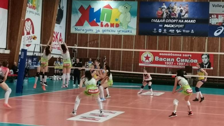 ЦСКА срещу Казанлък на финал при девойките U20