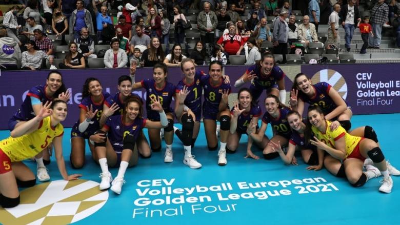 Испания се окичи с бронза в Златната лига