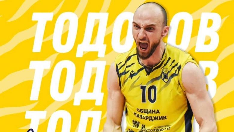 Теодор Тодоров: Пазарджик е едно прекрасно място за волейбол и живот, гоним високи цели