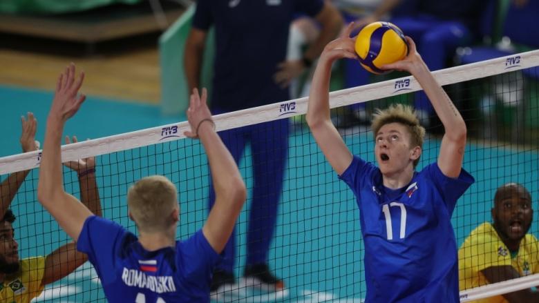Русия U21 преклони Бразилия в пет гейма