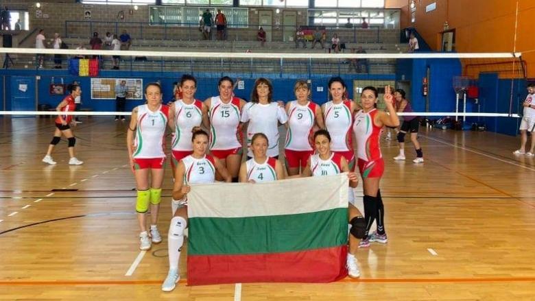 Класа! България със сребро на световното за ветерани при жените