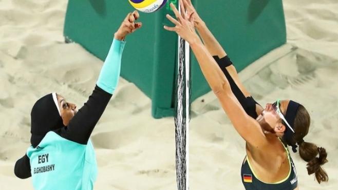 Плажният волейбол: сблъсък на нациите