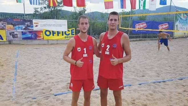 България на финал на Балканиадата по плажен волейбол