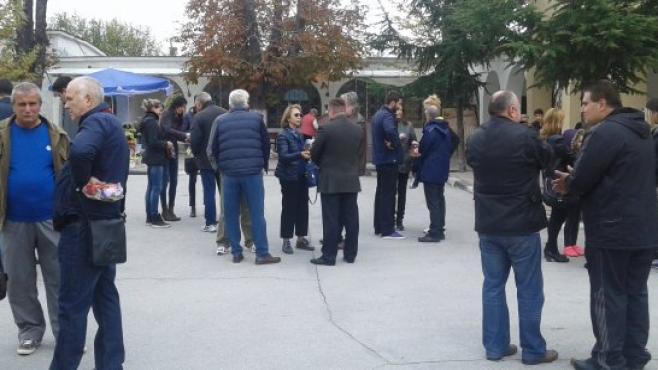 Пловдив се прости с Кольо Диманов