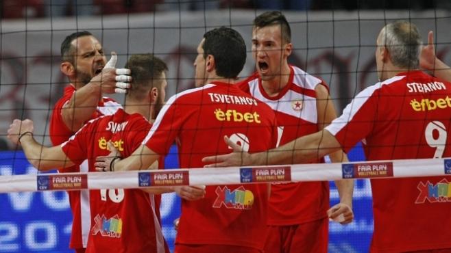 ЦСКА се завърна с гръм и трясък в Европа!