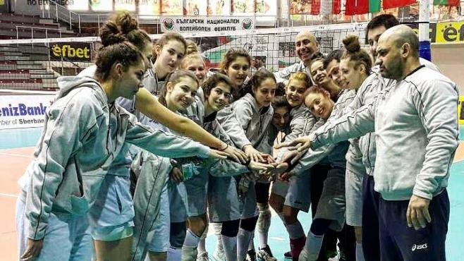 Славия с най-много момичета в националния U18