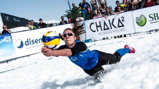 Най-зрелищните разигравания на снега в швейцарските Алпи [видео]