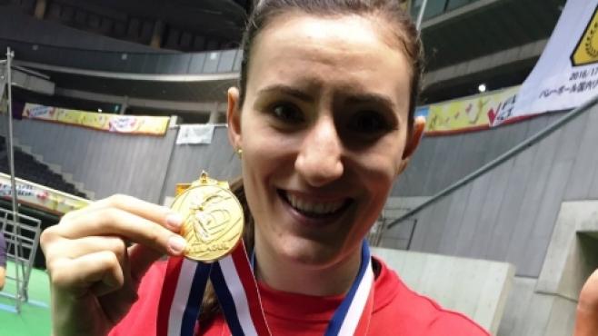 Еми Николова - шампионка на Япония