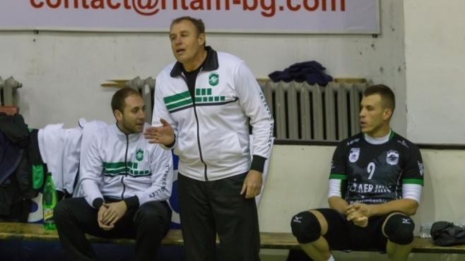 Петър Мечкаров: Постигнахме целта си да влезем в плейофите и сме доволни