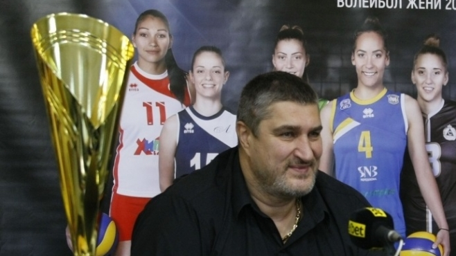 Любо Ганев: Нивото на българския волейбол се повишава
