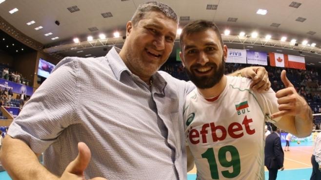 Любо Ганев пред BGvolleyball.com: Отборът намери формулата на успеха