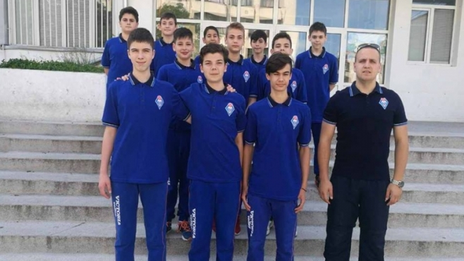 Виктория надигра Левски след петгеймова драма при момчетата U14