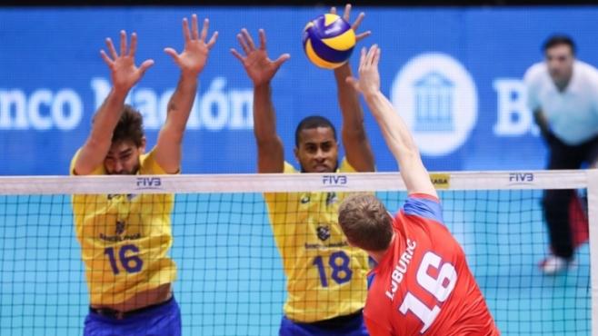 Бразилия повали Сърбия