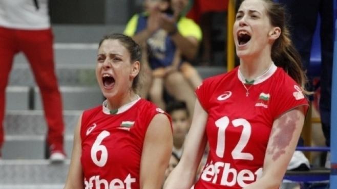 Нощни вълнения с волейболистките на България