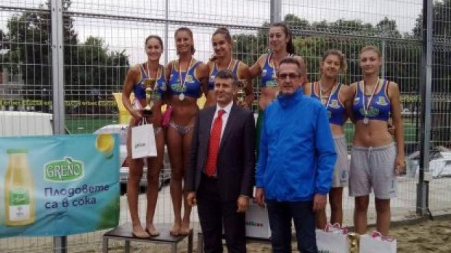Ангелова & Мишонова спечелиха турнира в Пловдив