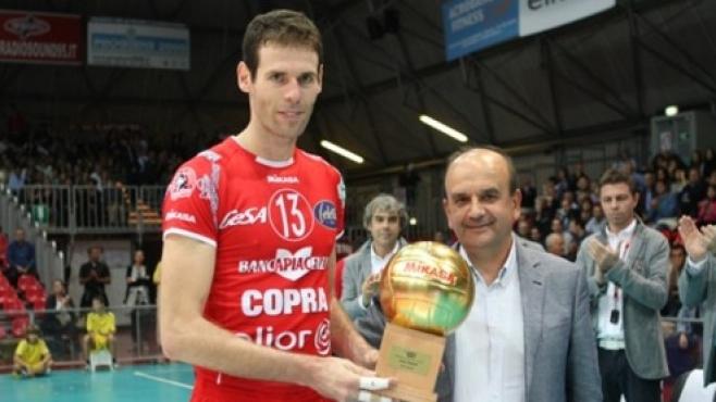 Още една легенда на Пиаченца се сбогува с волейбола