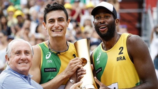 Бразилци триумфираха на пясъка във Виена