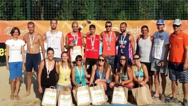 Бонжолов & Славков спечелиха петия турнир от Beach Volley Mania