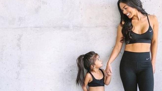 Спортуваща майка - спортуваща дъщеря