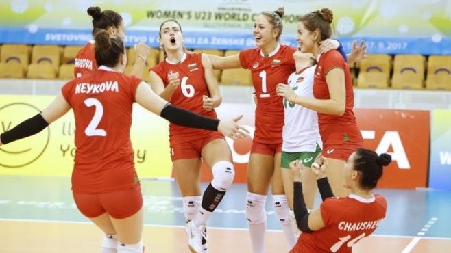 България U23 обърна Куба за успех №3 на Световното