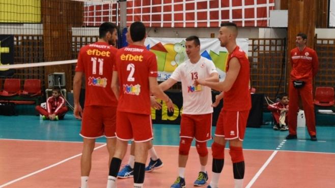 Гледайте с BGvolleyball.com на живо ЦСКА - Алжир