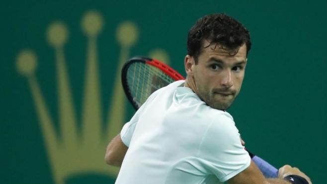 Григор Димитров на осминафинал в Шанхай