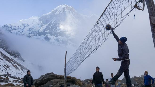 Тренировките на голяма надморска височина
