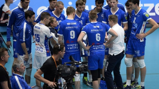 Гледай на живо с BGvolleyball.com Трифон Лапков и Абиант в мач-реванш от ШЛ