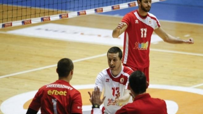 Мартин Божилов: Сервисът ни бе ключов за победата
