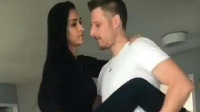 Бразилска двойка разгорещява мрежата с танци (Видео)