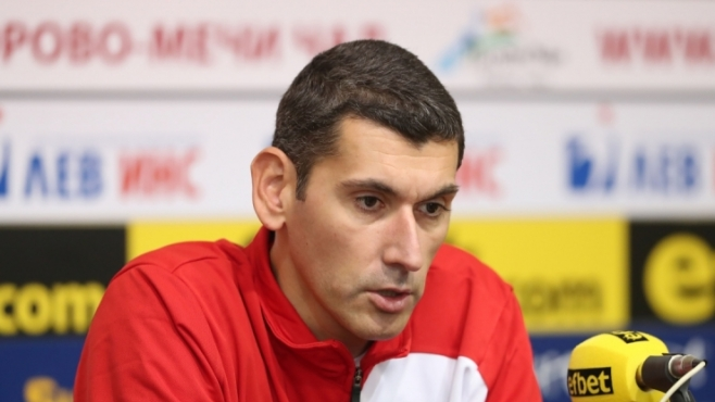 Александър Попов: Мачът с Белогорие е награда за нас