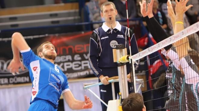 Трифон Лапков със силен мач за Абиант в Купата на ЦЕВ