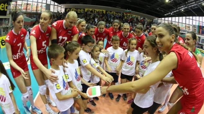 Волейболистките на България в тежка група за Световното 2018