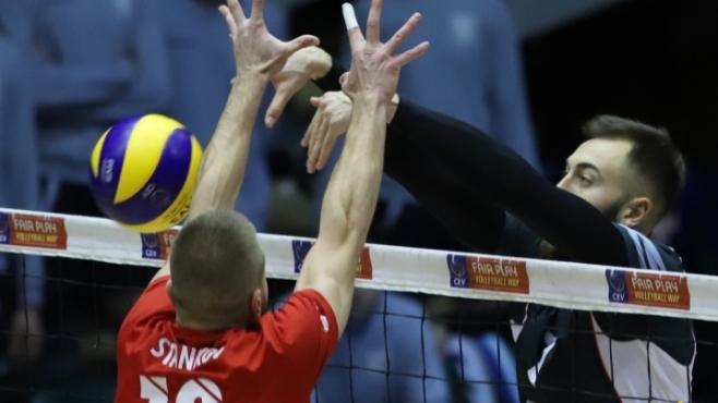 Класата си каза думата: ЦСКА загуби от Белогорие (статистика)