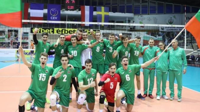 България U18 срещу Швеция в двубой №2 от евроквалификацията